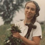 Image of woman with bunch of mint