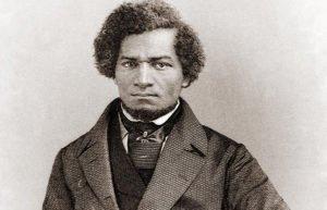 Engraving of Frederick Douglass