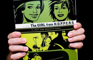 Cover of Love and Rockets issue