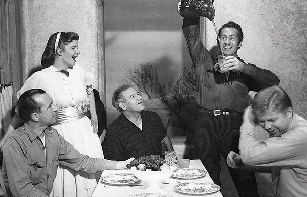 Cast of The Rainmaker, 1954