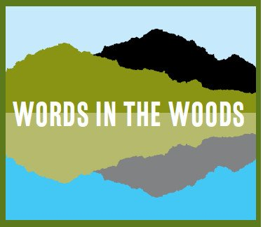 Words in the Woods logo