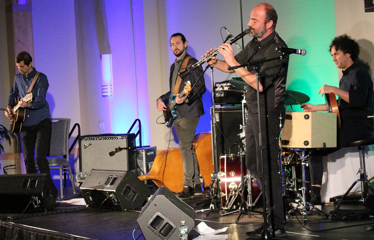 Kinan Azmeh and CityBand closing out our Fall Conference