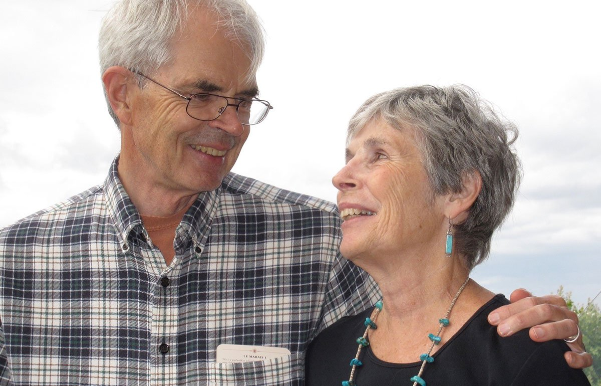 Victor Swenson and his wife, Judy Yarnall