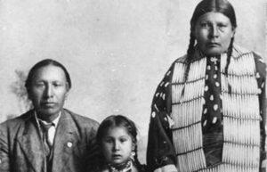 Nicholas Black Elk and family