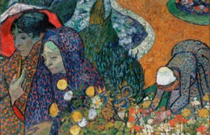 Memory of the Garden at Etten (Ladies of Arles) by Vincent van Gogh (1853–1890)