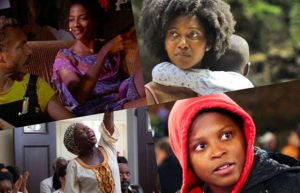 Four Black women from different films