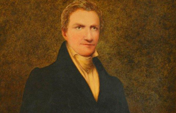 Painted portrait of Matthew Lyon