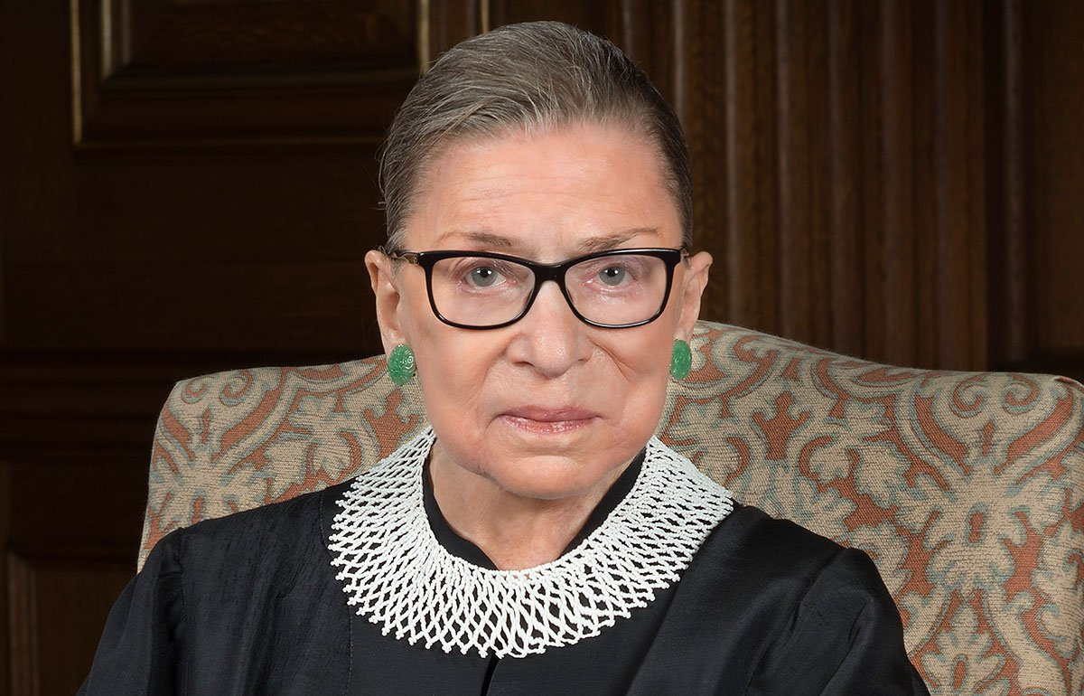 Portrait of Ruth Bader Ginsburg